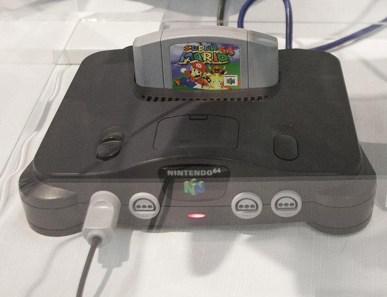 Nintendo 64 и Super Mario